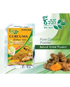 Bio Way Curcuma Natural Herbal Powder 100% (20 g)