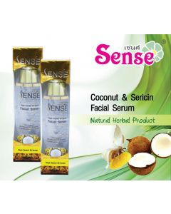 Sense Virgin Coconut Oil & Sericin Facial Serum (100 ml)