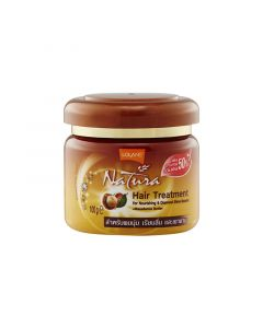 Lolane Natura Hair Treatment Macadamia Butter For Nourishing & Diamond Shine Booster (250g)