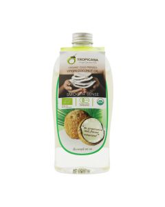 Tropicana Organic Cold Pressed Virgin Coconut Oil (500ml)