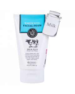Scentio Milk Plus Whitening Q10 Facial Foam (100 ml)