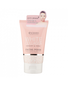 Scentio White Collagen Oil Control Facial Foam (100 g)