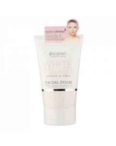 Scentio White Collagen Facial Foam (100 g)