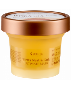 Scentio Bird's Nest and Gold Ultimate Facial Mask (100 ml)