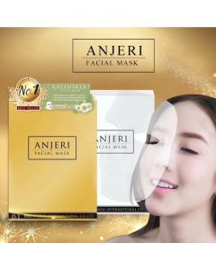 Anjeri Facial Mask Gold & Silver (42 g x 10 pcs)