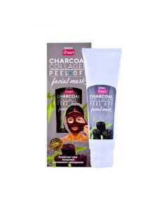 Banna Charcoal Collagen Peel Off Facial Mask (120ml)