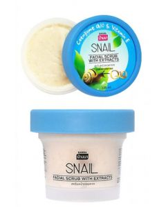 Banna Snail Facial Scrub with Extracts (100 ml)