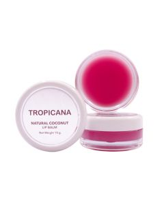 Tropicana Coconut Lip Balm Pomegranate Joyful (10g)