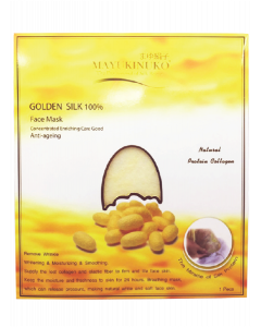 Mayukinuko Golden Silk Face Mask