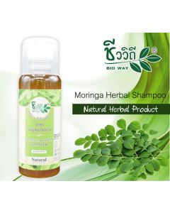 Bio Way Moringa Herbal Shampoo (240 ml)