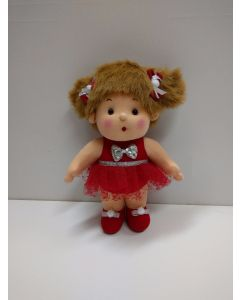 "Peppermint Doll ""Ballet"" in Red Dress."