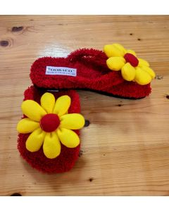Children Slippers Flower Medium Group