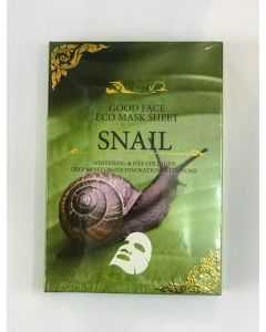 Siam Virgin Snail Face Eco Mask Sheet (30 ml x 5 pcs)