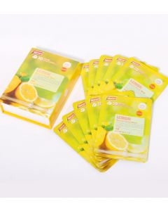 East-Skin Lemon Natural 3D Facial Mask (10x38ml)