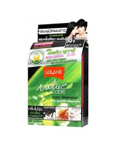 Lolane Nature Code N1 Natural Black Color Shampoo (10 ml)