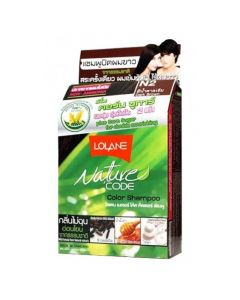 Lolane Nature Code N2 Dark Brown Color Shampoo (10ml)