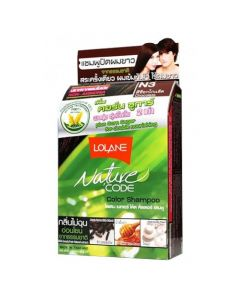 Lolane Nature Code N3 Chocolate Color Shampoo (10 ml)