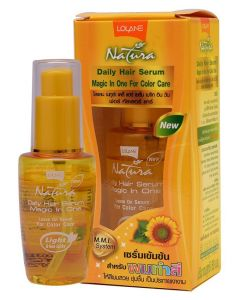 Lolane Natura Daily Hair Serum Magic In One For Color Care (50ml)