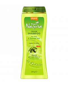 Lolane Natura Shampoo For Day & Damage Hair with Jojoba Oil Extract (200ml)