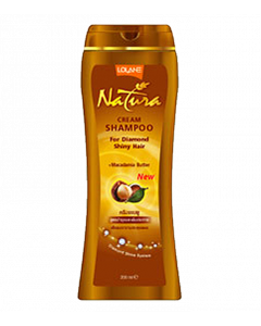 Lolane Natura Shampoo For Nourishing & Shiny Hair With Diamond Shine System (200ml)