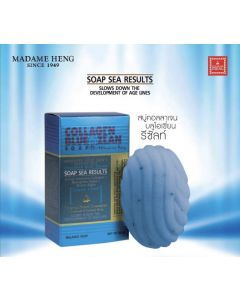 Madame Heng Collagen Blue Ozean Soap Sea Results 80g