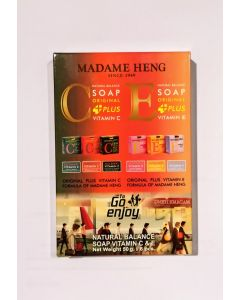 Madame Heng Natural Balance Soap Vitamin C & E Set ( 50g x 6 pcs)