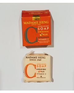 Madame Heng Natural Balance Soap Pomegranate Plus Vitamin C (150g x 3 pcs)