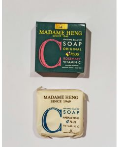 Madame Heng Natural Balance Soap Rosemary Plus Vitamin C (150g x 3 pcs)