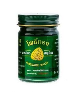 Pho Tong Thai Herbal Green Cooling Massage Balm 50 g