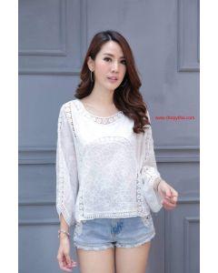 Women's Crochet Blouse #05