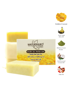 Mayukinuko Golden Silk Protein Soap (75g)