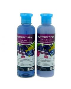 Banna Butterfly Pea Hair Shampoo + Conditioner