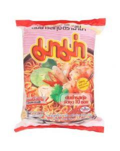 Mama Shrimp Tom Yum Flavour Instant Noodles (55g x 10pcs)