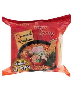 Mama Oriental Kitchen Hot & Spicy Flavour Instant Noodles (80g x 4pcs)
