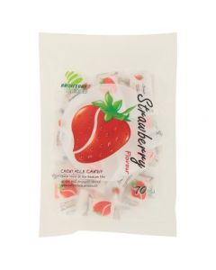 Haoliyuan Strawberry Flavour Chewy Milk Candy (70g)