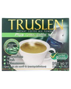 Truslen Instant Coffee Mix Powder Plus Green Coffee Bean  (16g x 10 sachets)