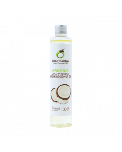 Tropicana Organic Cold Pressed Virgin Coconut Oil (100ml)