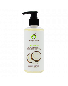Tropicana Organic Cold Pressed Virgin Coconut Oil (250ml)