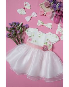Little Coogie Dress J-4114-0 Pink