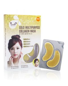Moods Gold Multipurpose Collagen Mask (10 pairs)