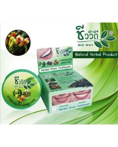 Bio Way Herbal Clove Toothpaste (25 g)