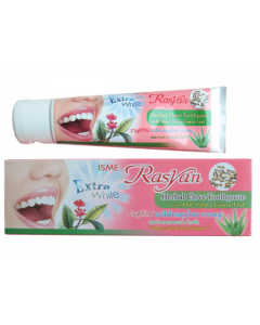 ISME Rasyan Herbal Clove Toothpaste  with Aloe Vera & Guava Leaf (100g)