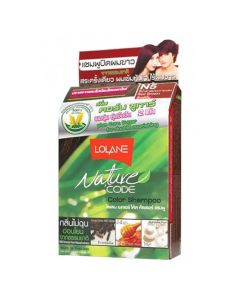 Lolane Nature Code N5 Red Brown Color Shampoo (10 ml)