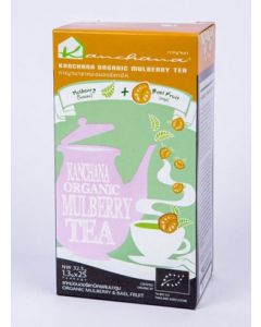 Kanchana Organic Mulberry Tea + Beal Fruit (125 Teabags)