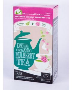 Kanchana Organic Mulberry Tea + Rose (125 Teabags)