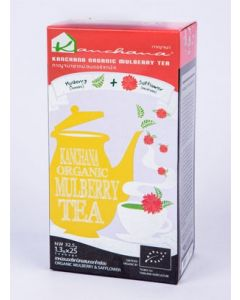 Kanchana Organic Mulberry Tea + Safflower (125 Teabags)