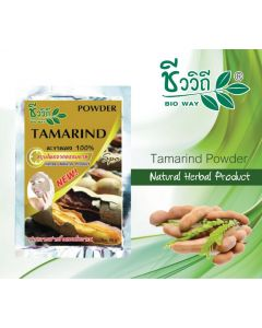 ฺBio Way Tamarind Natural Herbal Powder 100% (20 g)