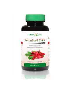 Herbal One Green Tea and Chilli Extract Capsule