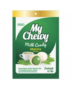 My Chewy Milk Candy Matcha Flavour (67g)