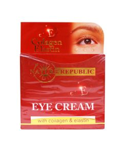 Nature Republic Eye Cream with Collagen & Elastin, (15 ml)